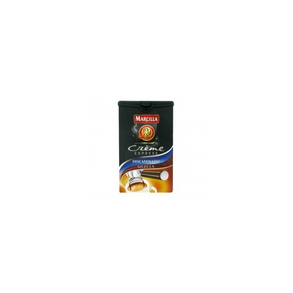Spanish coffee Creme Expresso decaffeinated blend 250 Grs - Marcilla