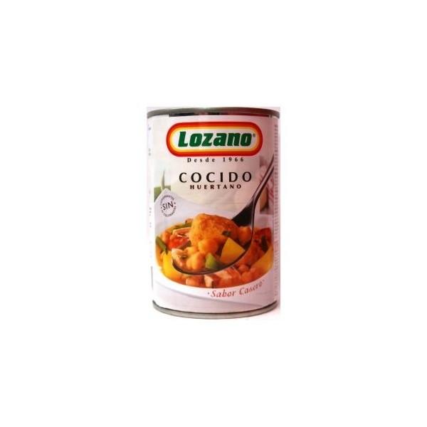 Cocido Huertano 500 Gr - Lozano