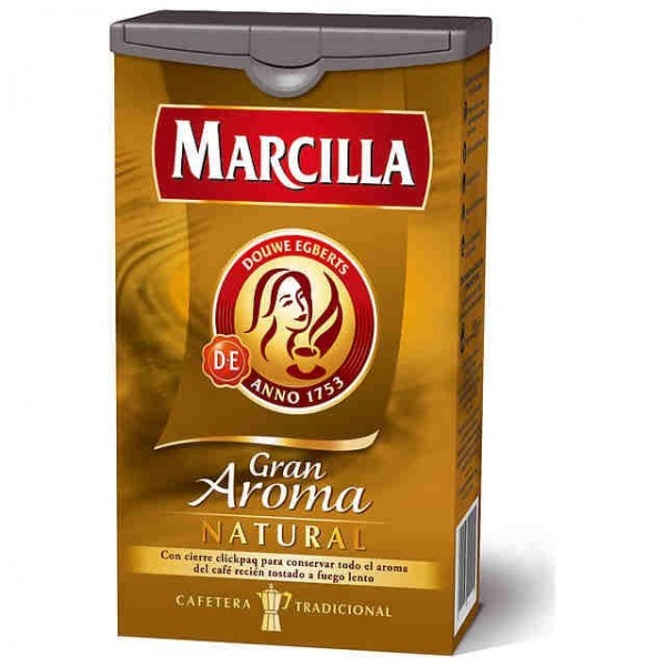 Ground Natural Coffee 250 Grs - Marcilla