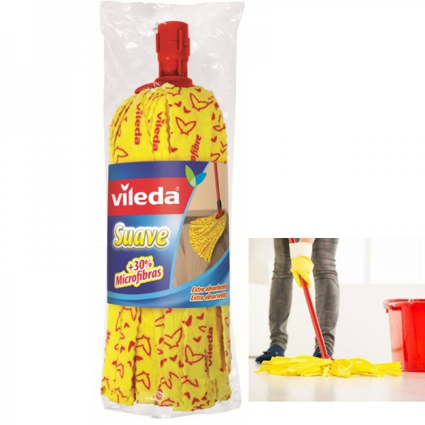 Soft Mop Fregona yellow VILEDA