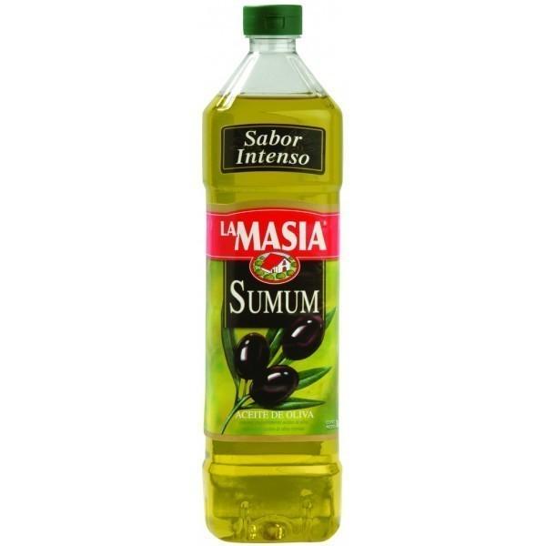 Huile d'olive 1 litre saveur intense La Masia