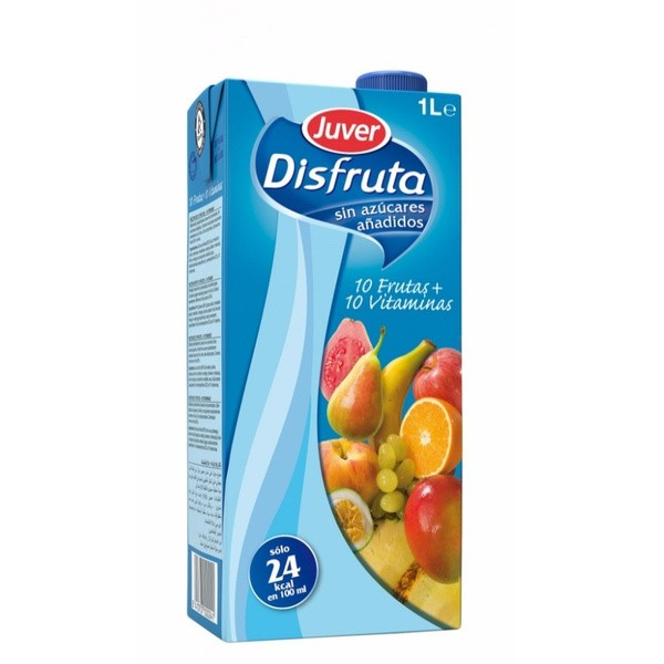 Nectar Disfruta Fruits and Vitamins Brik 1 Liter