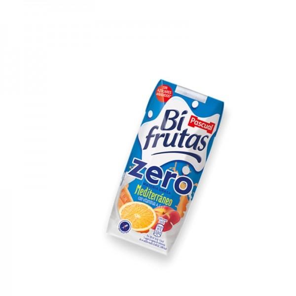 Milk Juice Bifrutas Zero Pascual Mediterraneo Pack 18 33Cl