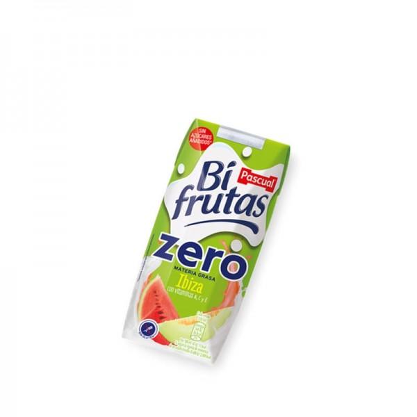 Milk Juice Bifrutas Zero Pascual Ibiza Pack 18 33Cl