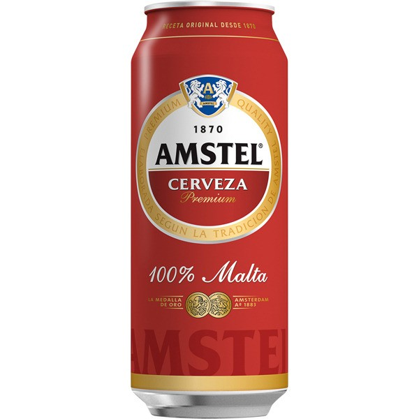 Beer Amstel 56,8 Cl can pack 24