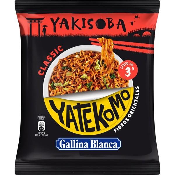 Yatekomo Yakisoba Clasic Bag 93G - Gallina Blanca