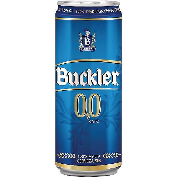 Buckler Bier ohne Alkohol 0% 33 Cl Pack 24