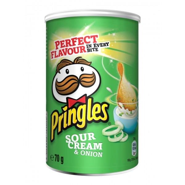 Snack Pringles Sour Cream&Onion 70G