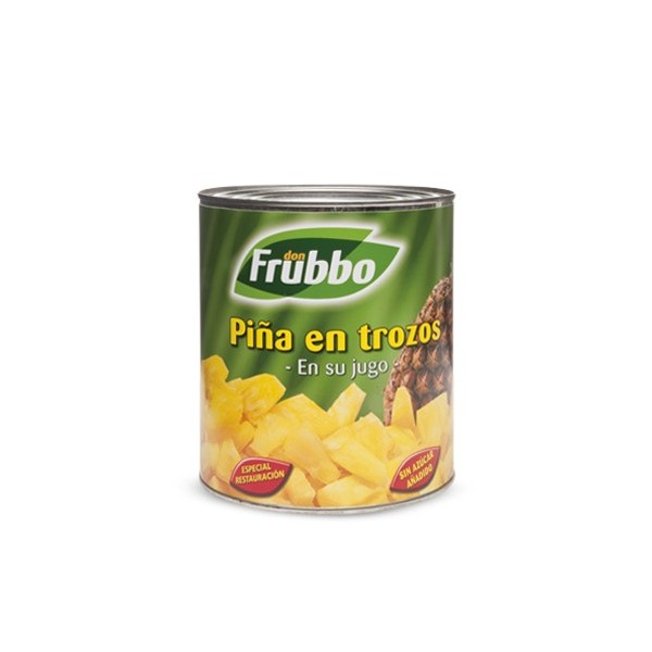 Canned pineapple Donfrubbo 1 Kg. 822G F.A.