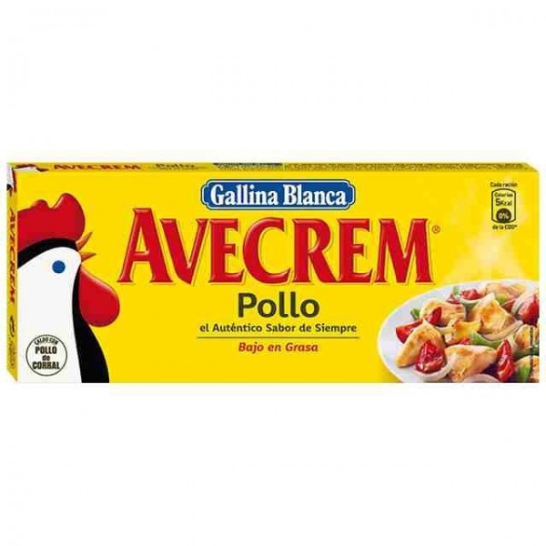 Chicken Broth 12 Pills - Avecrem