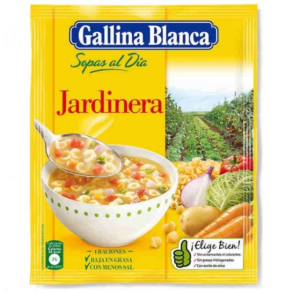 Soup Planter - Gallina Blanca