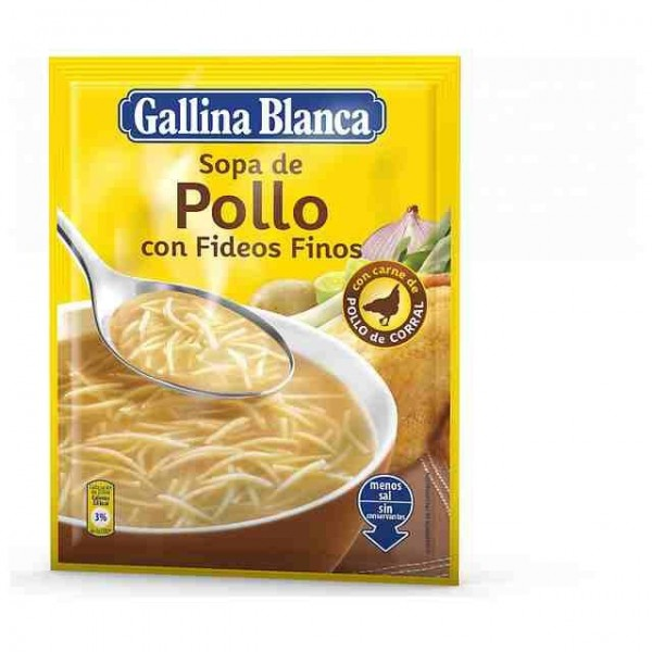 Chicken Noodle Soup Fine - Gallina Blanca