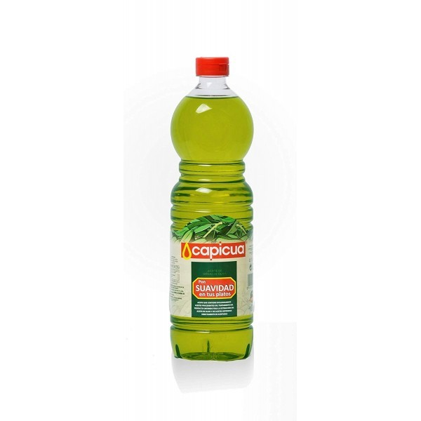 Olive Oil Capicua Soft Cooking 1L