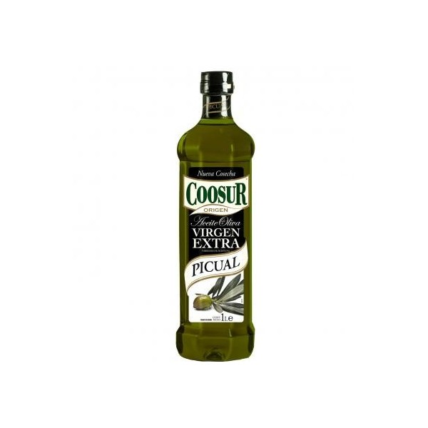 Huile Olive Coosur Extra Vierge Picual 1L