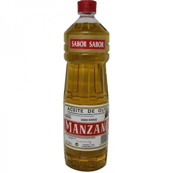 Aceite Oliva Manzano 0,4º 1 L.
