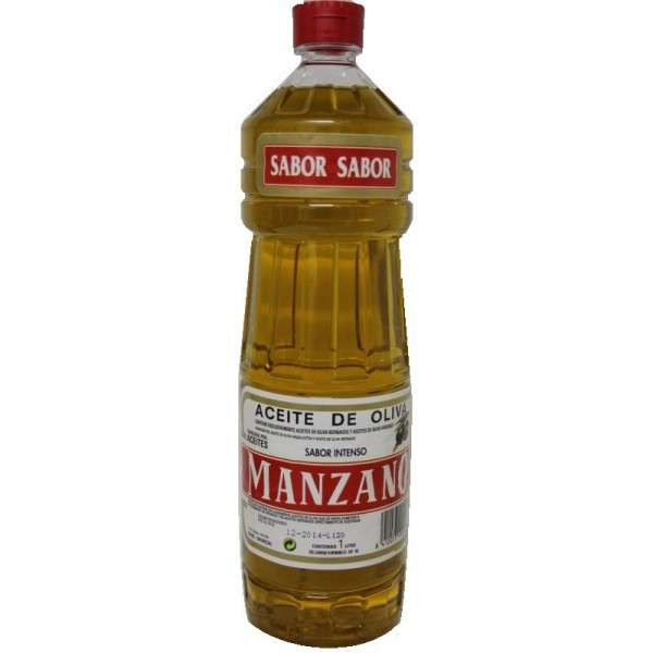Huile Olive Manzano 0,4º 1 L.