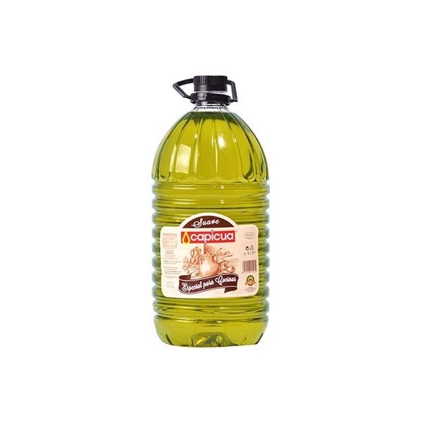 Huile Olive Capicua Suave Cuisiner 5 L