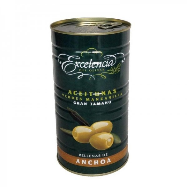 Stuffed Olives Excellence 2,6 Kg