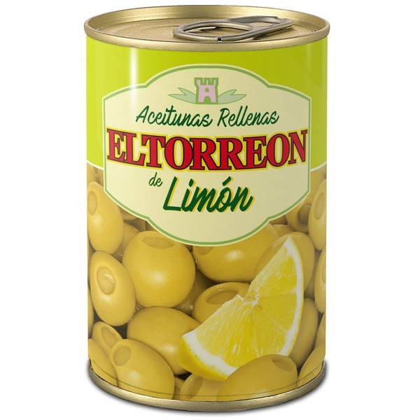 Stuffed Lemon Olives El Torreon