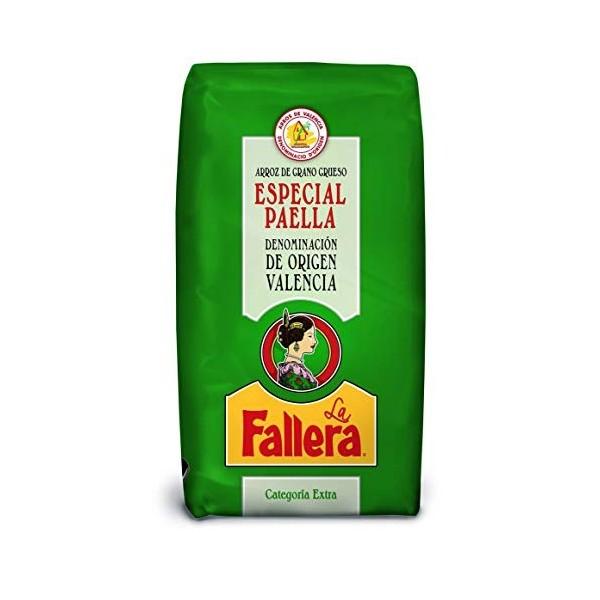 Riz paella Fallera Dénomination Origine Valencia 1Kg