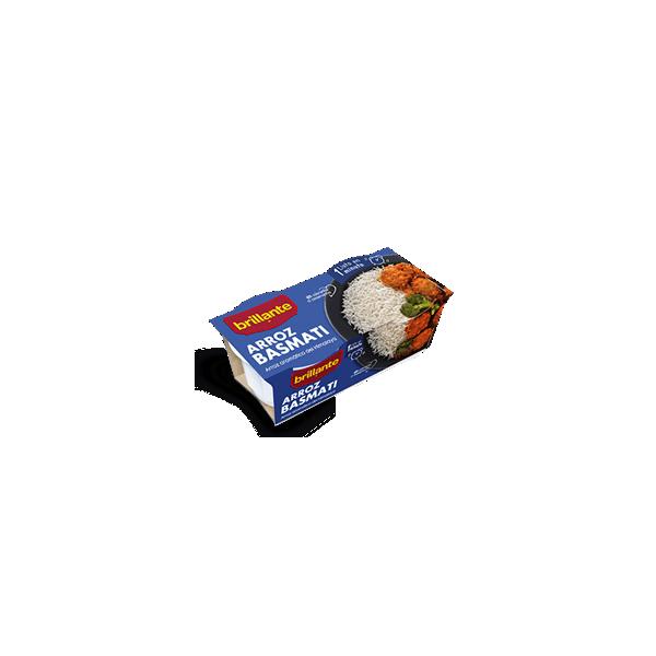 Riz précuit Basmati Brillante Pack-2 verres