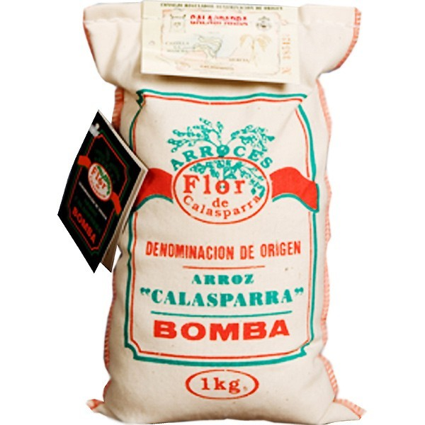 Reis für Paella Calasparra Flor Tasche 1 Kg