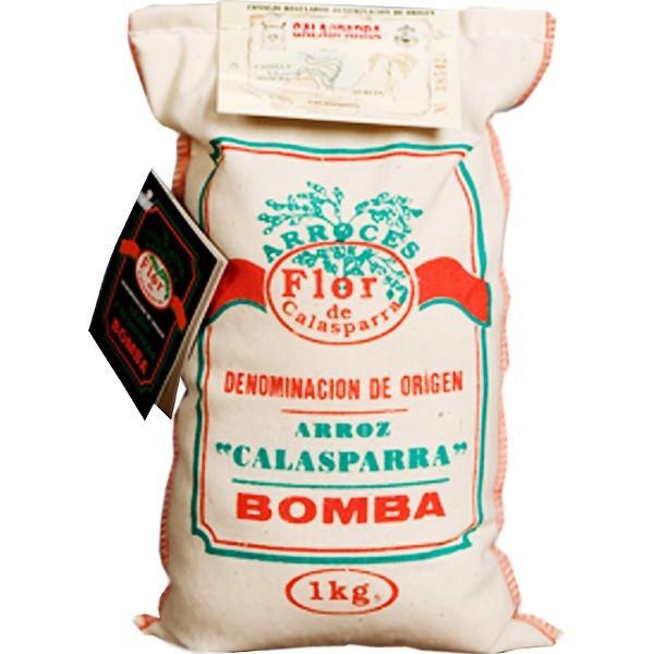 Riz paella Calasparra Flor Sac 1 Kg