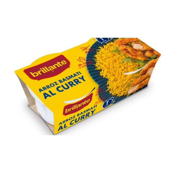 Rice with curry Brillante cup Pk-2 2X125Gr