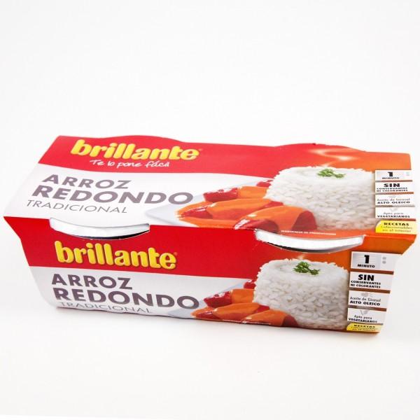 Round rice Brillante Cup Pk-2 2X125Gr