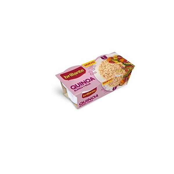 Quinoa Brillante Blanche et rouge 2 pots 125Gr