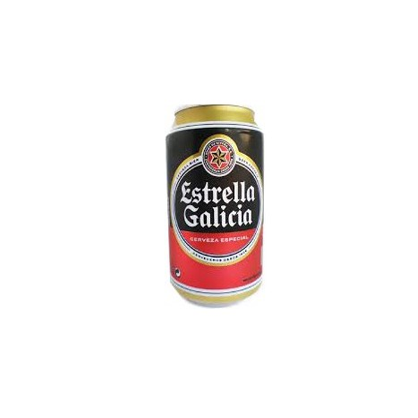 Cerveza Estrella Galicia Lata 33 Cl pack 24