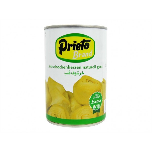 Artichokes Prieto 12-14 Tin 425 Ml