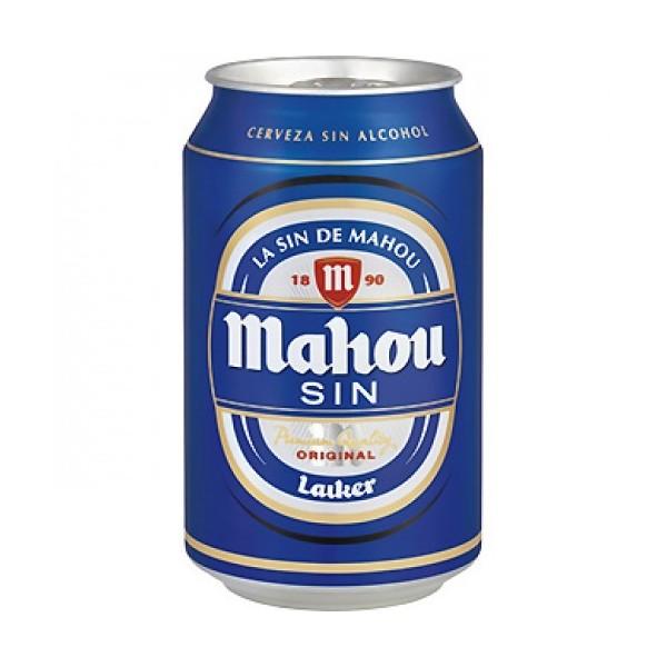 Birra analcolica Mahou 33CL pack 24