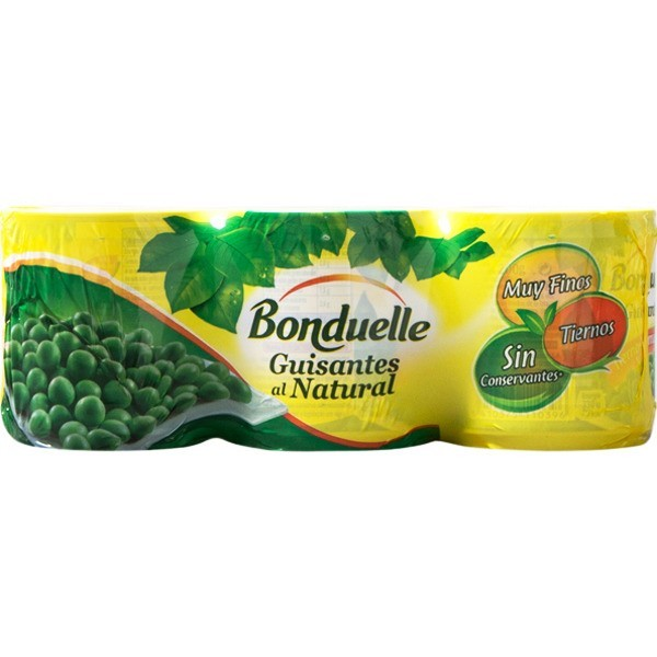 Thin Green peas Bonduelle Fines 500 Grs
