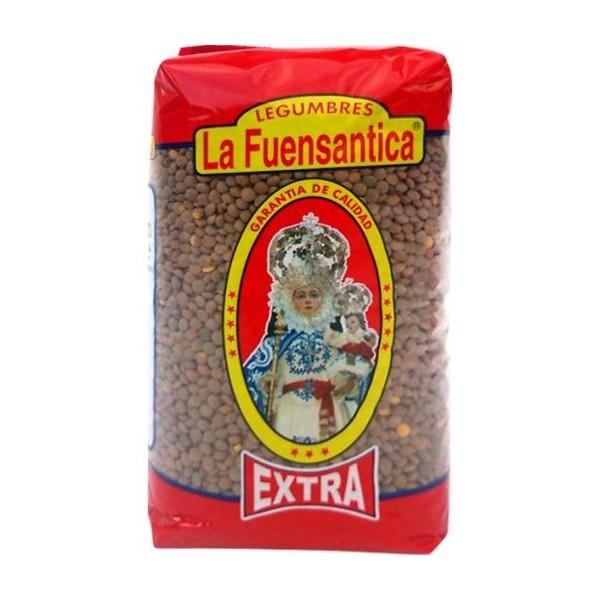 Lentils Fuensantica Pardina 500 Grs