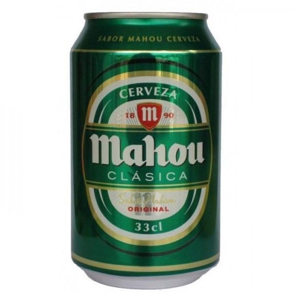 Bière Mahou clasica 33cl 4.8º pack 24