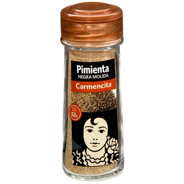 Ground black pepper Carmencita