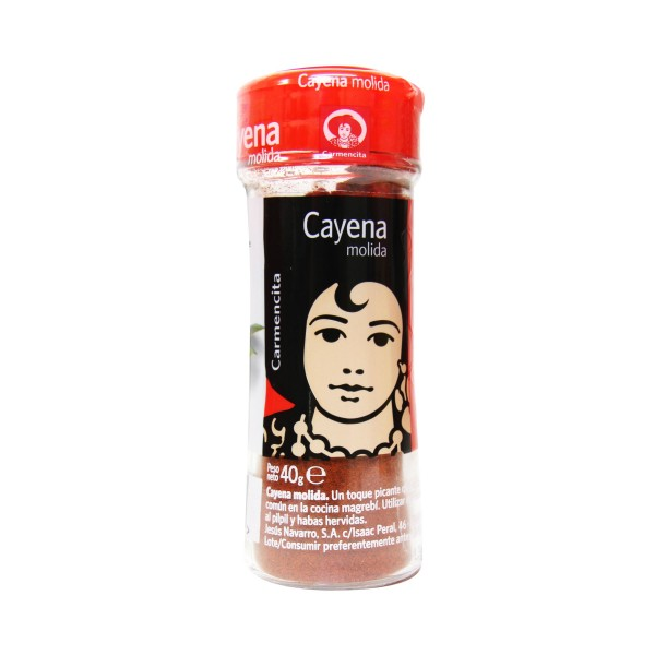 Ground cayenne Carmencita
