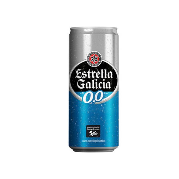 Bière sans alcohol Estrella Galicia 0.0 33Cl pack 24