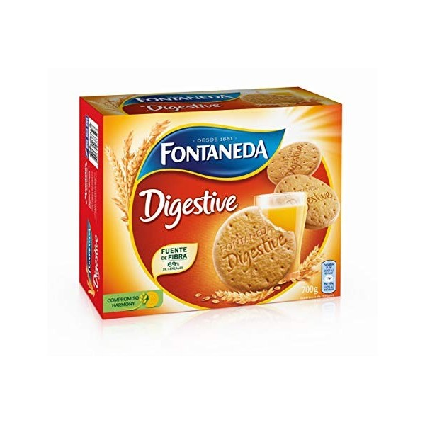 Biscuits Fontaneda Digestive 700 Grs