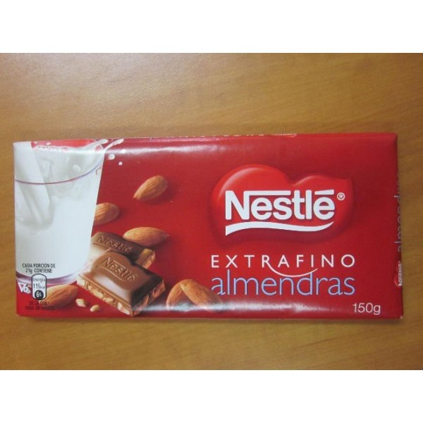 Chocolate Almond 3431 150 Grs Nestle
