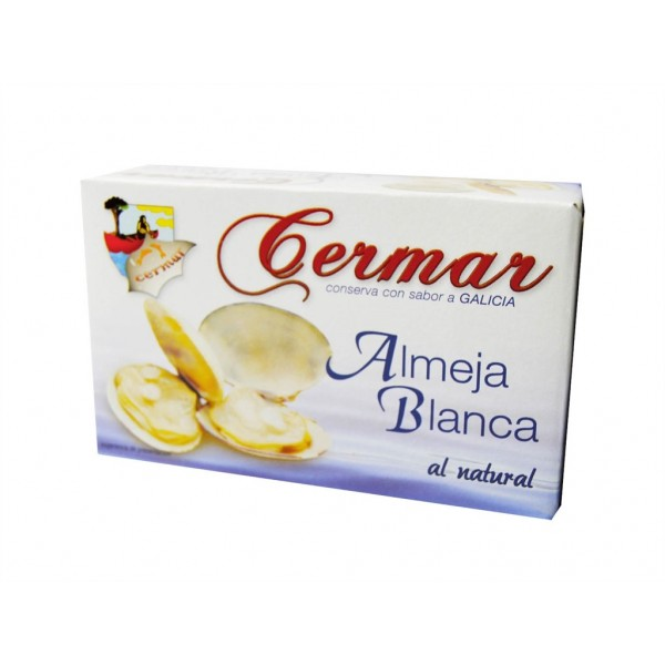 White natural Clams Cermar Ol-120 115 Grs