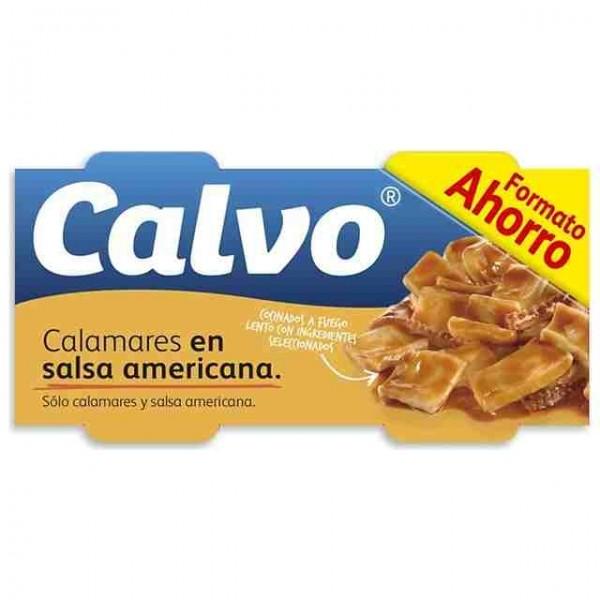 Squid in sauce CalvoRo-80 Pk-3