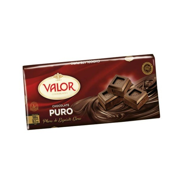 Chocolate Pure Valor 300 Grs