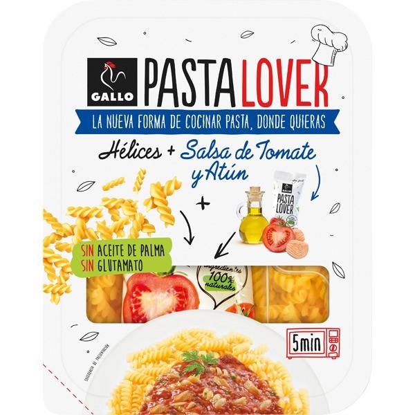Pasta Gallo Lover Helices Tomate&Tuna 180 Grs