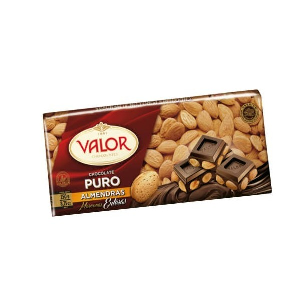 Pure Chocolate Almond 250 Grs - Valor
