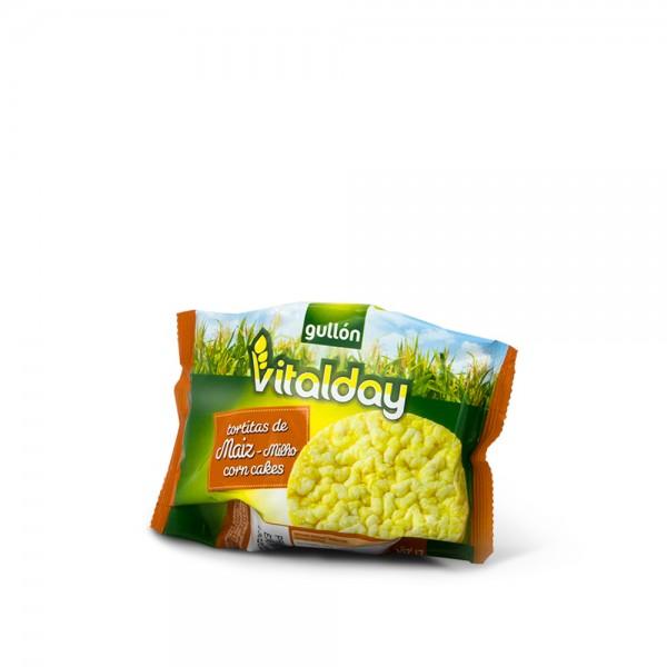 Corn Waffers Vitalday 25 Grs