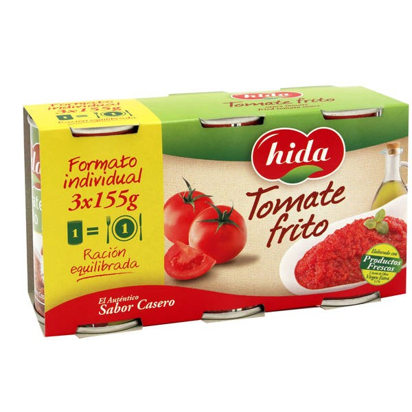 Tomate Frito Kids Sin Trocitos Hida