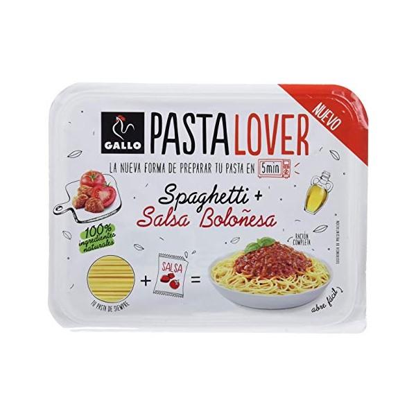 Pasta Gallo Lover Spaguetti bolognese 180Grs