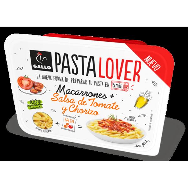 Pasta Gallo Lover Macarron Tomato&Chorizo 180Grs